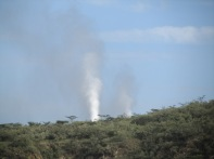 Olkaria geothermal power plant