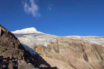 Volcan Cayambe, Ecuador