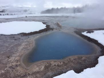 Iceland's geyser field