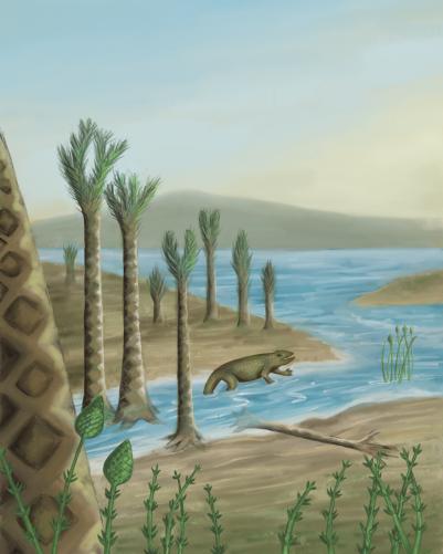 Devonian Period, digital