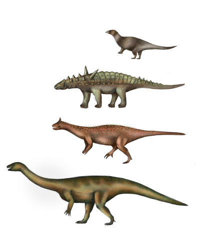 Antarctic dinosarus, digital