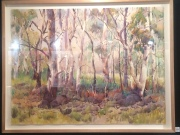 Julie Simmons, The Bush, Watercolour