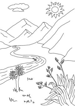 Daytime landscape